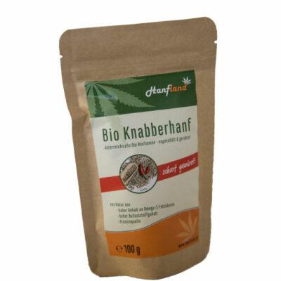 Bio Knabberhanf scharf von Hanfland von Hanf aus Oesterreich