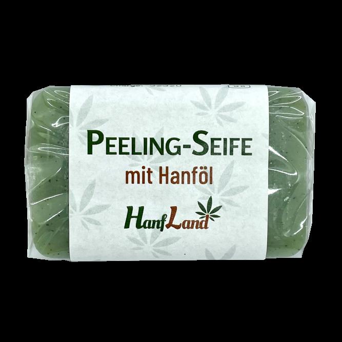 Peeling Seife mit hanfoel hanfland