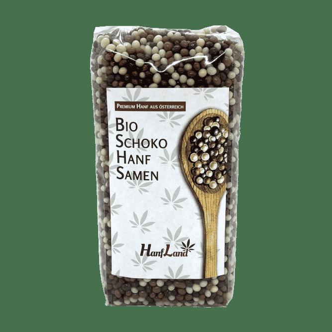 Bio Schoko Hanfsamen Premium Hanf Schokolade Hanfland