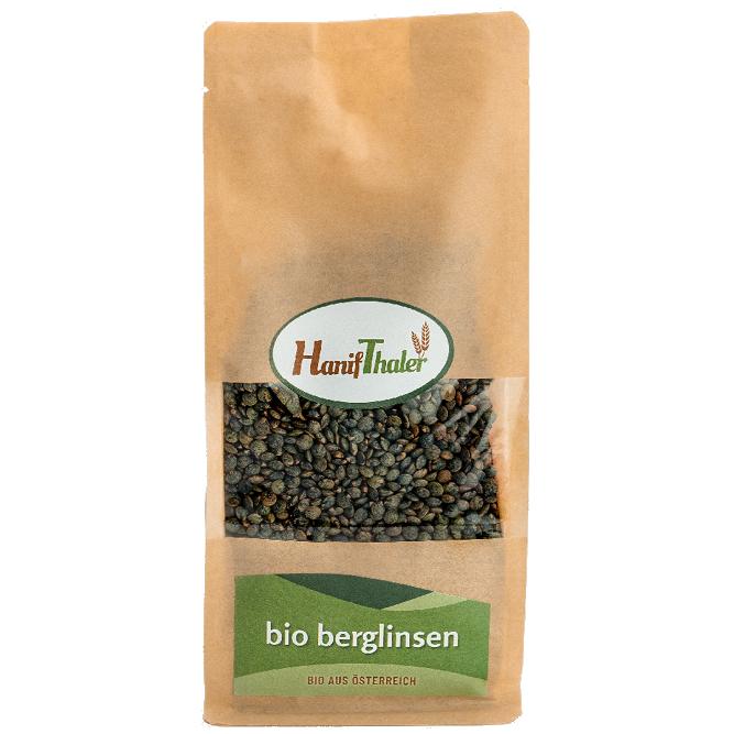 Bio Berglinsen aus Oesterreich von Hanifthaler Regionale Huelsenfruechte vegane proteinquelle hanfland