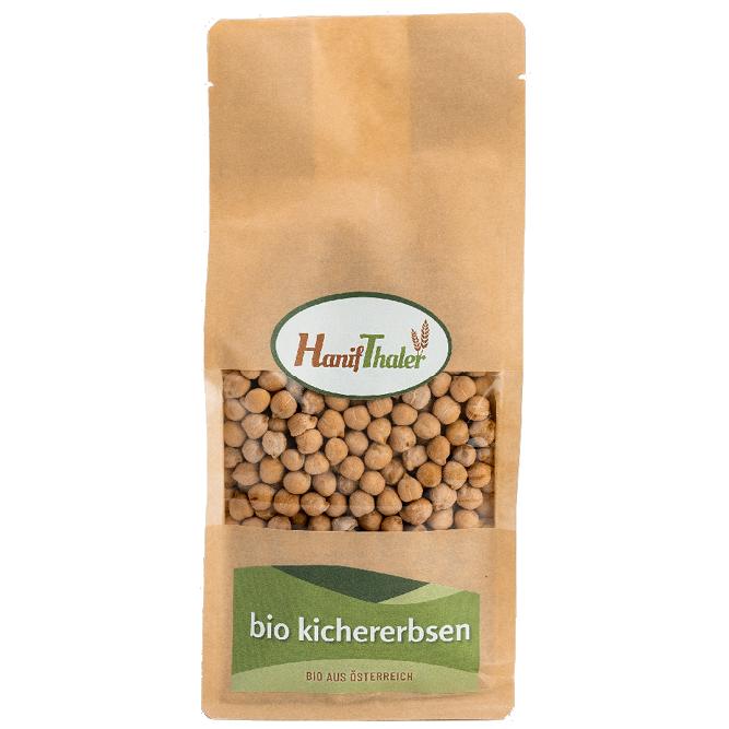 Bio Kichererbsen aus Oesterreich von Hanifthaler Regionale Huelsenfruechte vegane proteinquelle hanfland