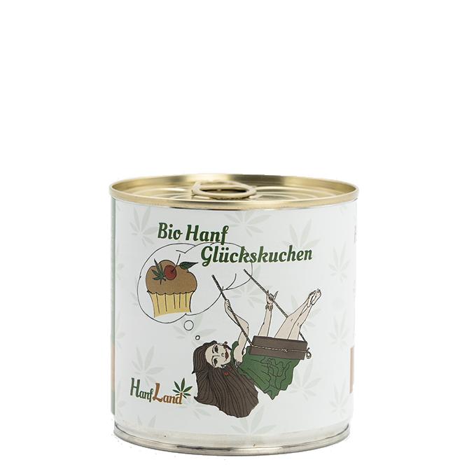 Bio Hanf Glückskuchen mit ungeschaelten Hanfsamen aus Oesterreich aus Premium Hanf in der 170g Packung
