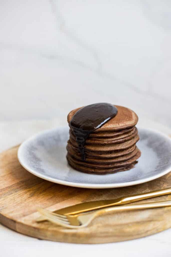 Pancakes aus bio hanf power mix mit hanfprotein veganes eiweiss aus oesterreich aus bio premium hanf von hanfland close